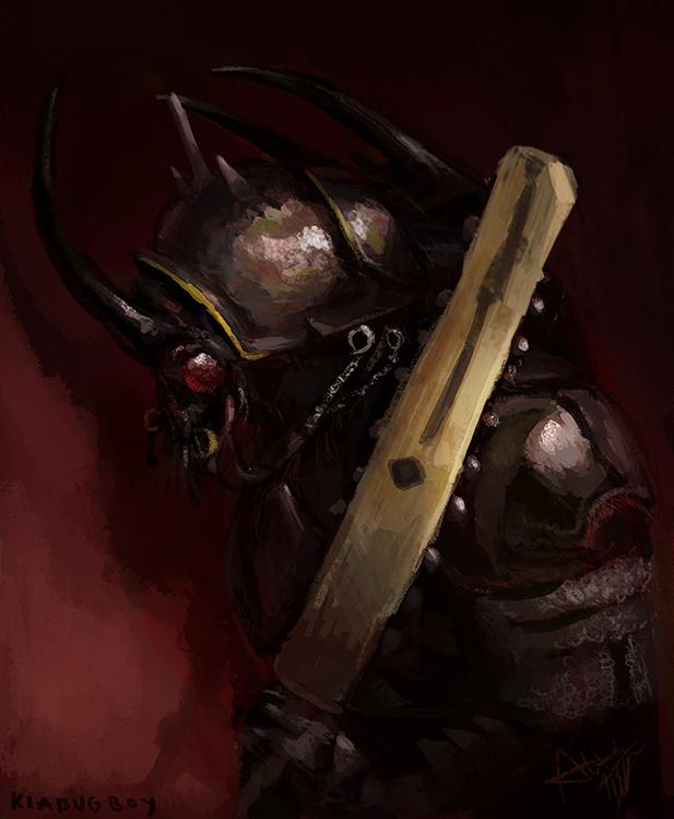 Beetle warrior
