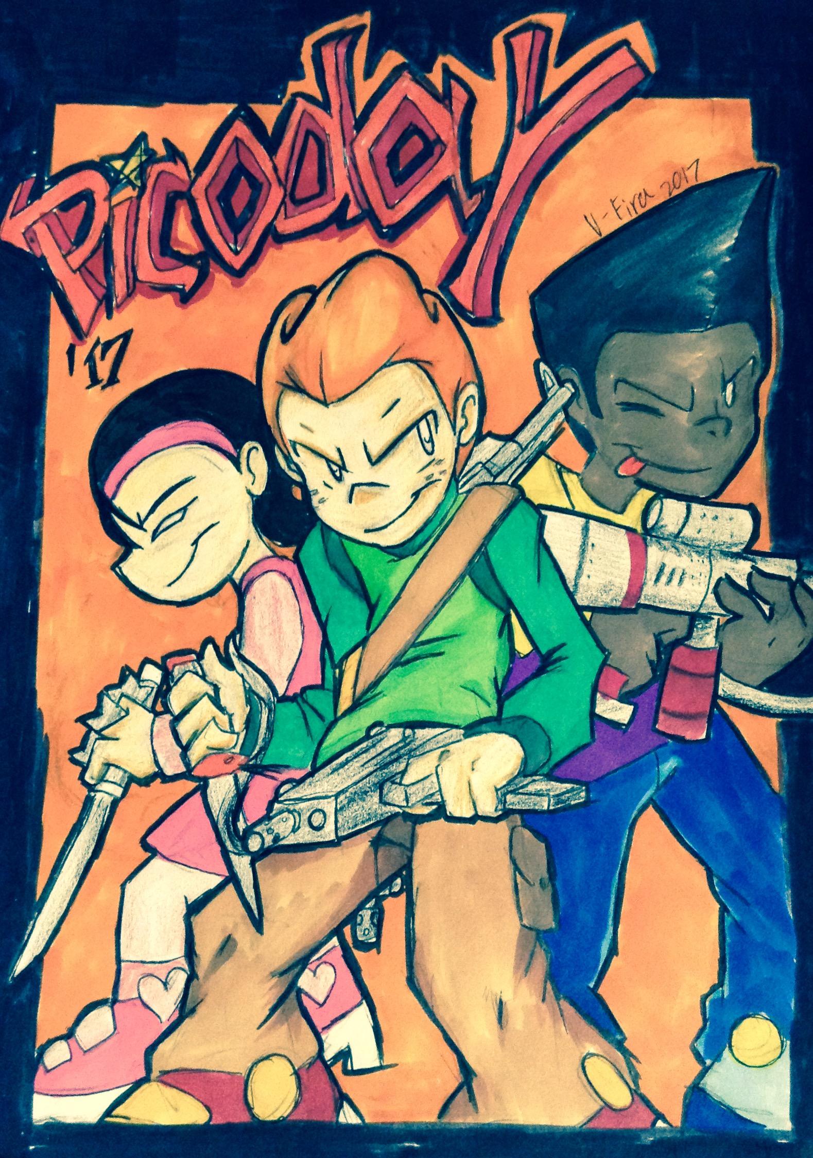 Definitely Kids with Guns (PicoDay17)