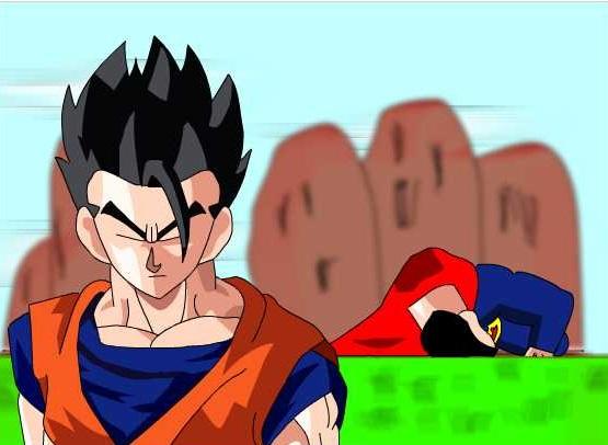 Gohan VS Superman