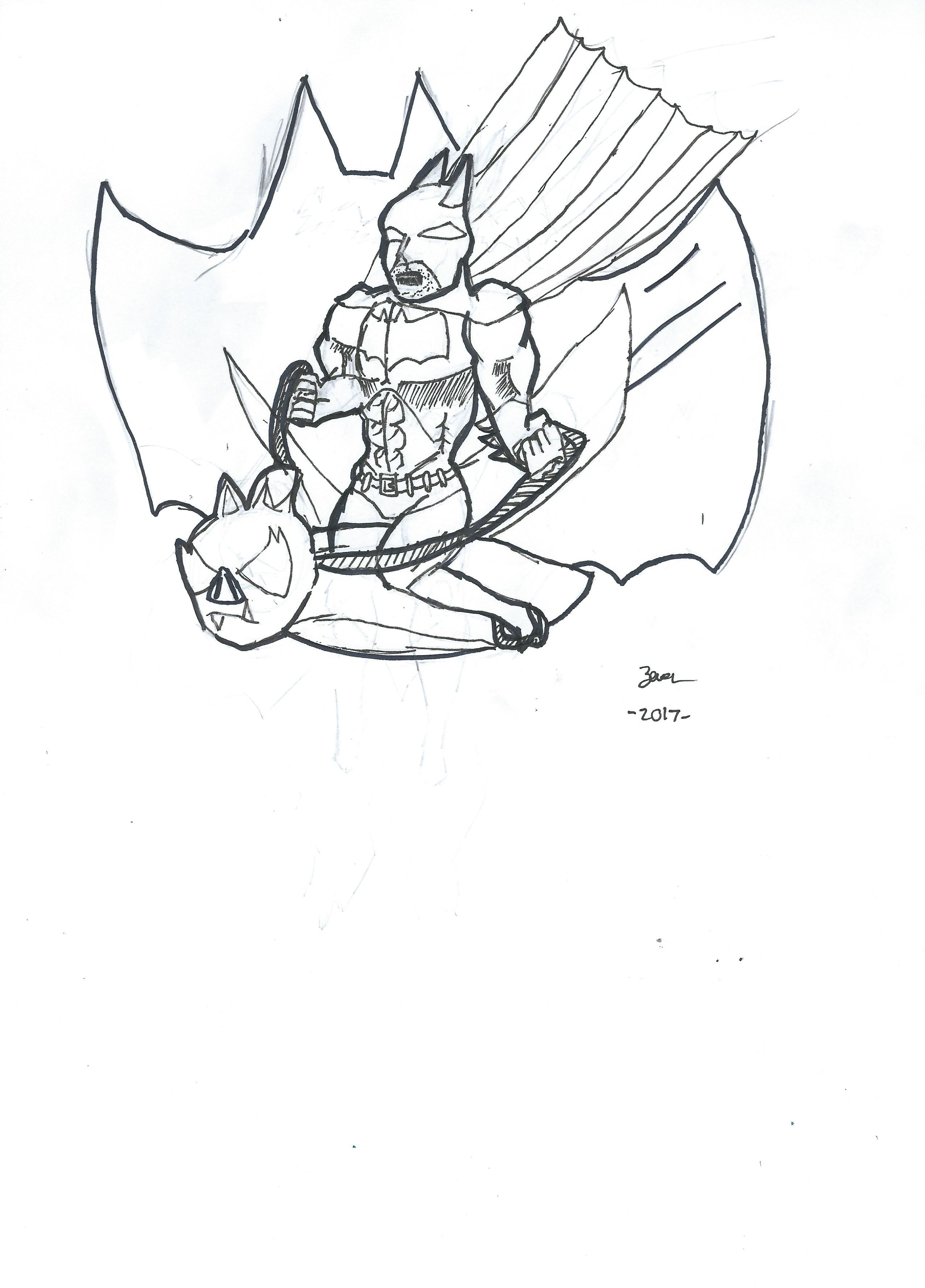 Batman LEVEL99 in work