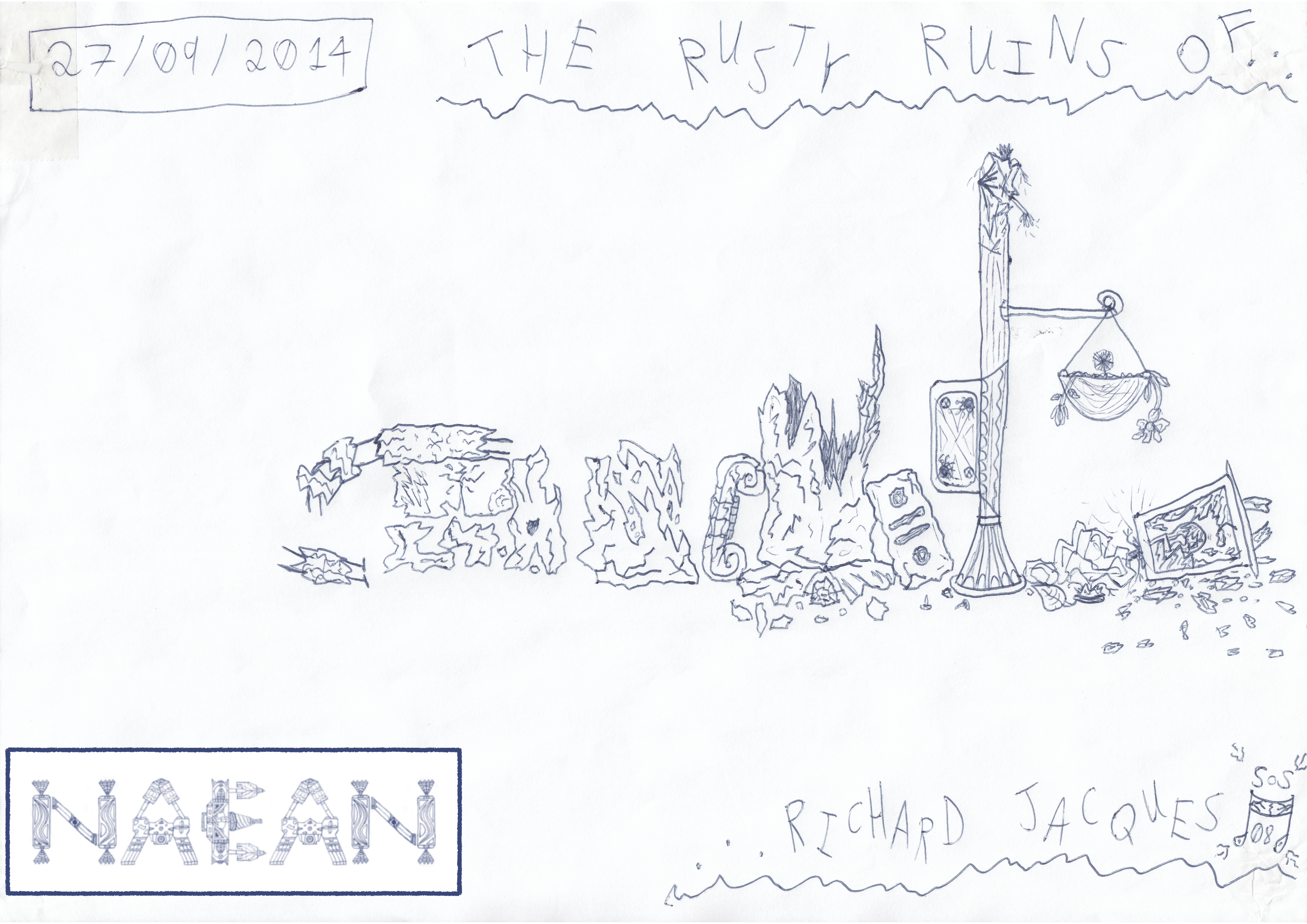 The Rusty Ruins Of Richard Jacques (27/09/2014)