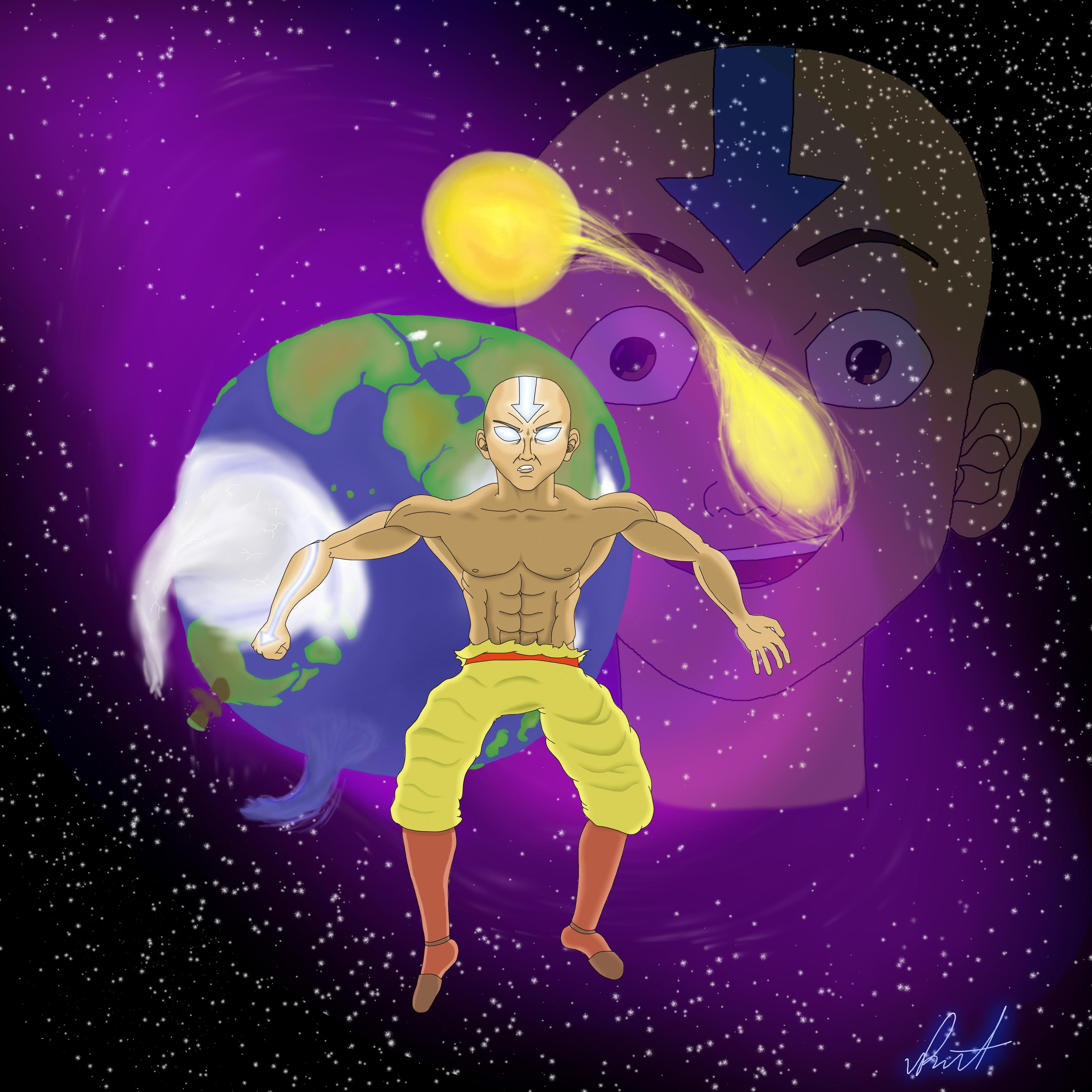 Avatar Aang Level 99