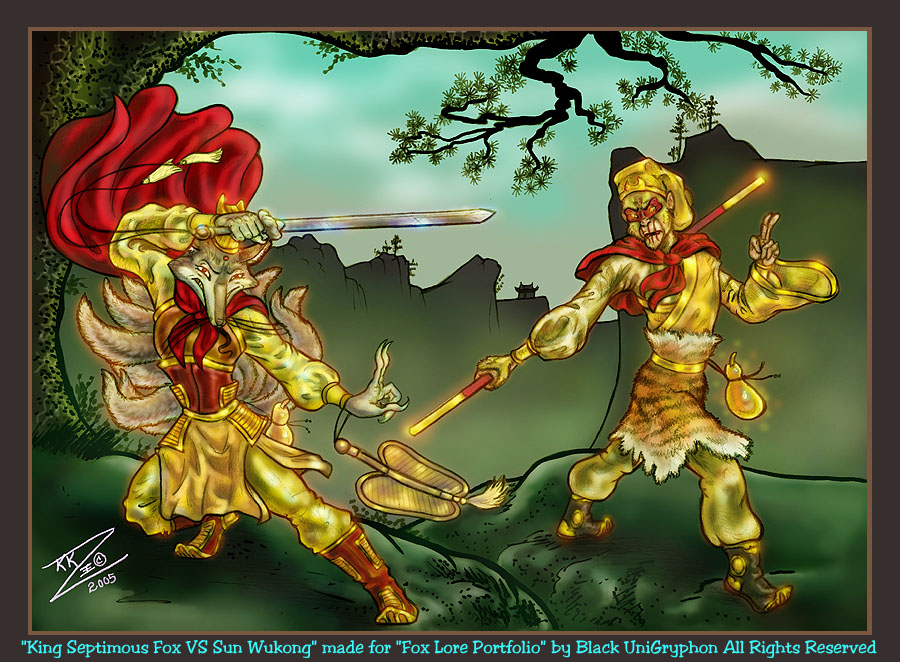 Wukong VS King Septimous Fox