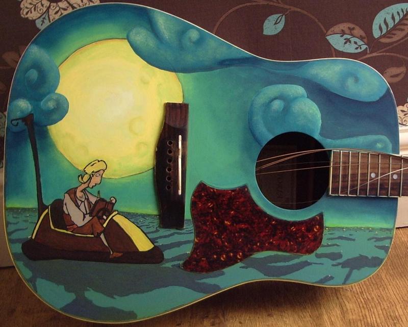Monkey Island Guitar