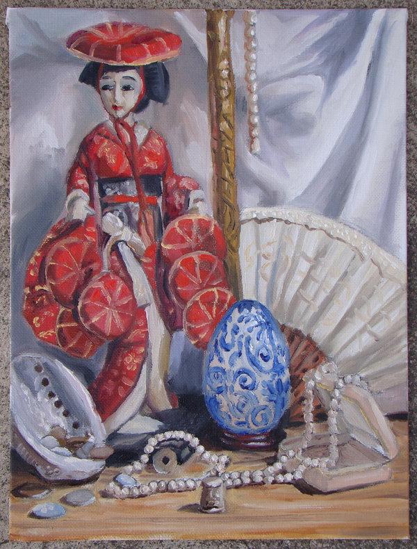 Remnants of a Geisha