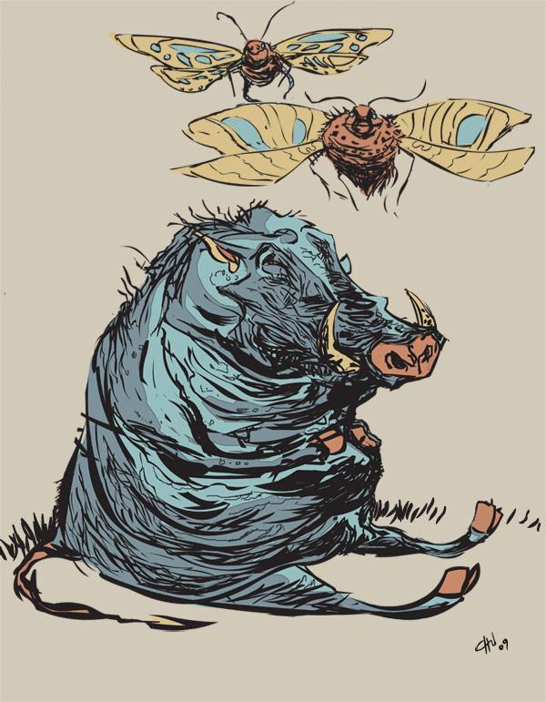 The Warthog Comes