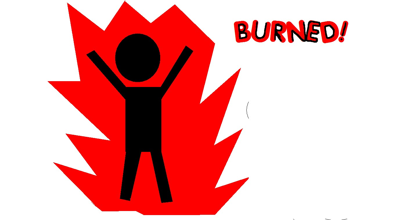 oh burned