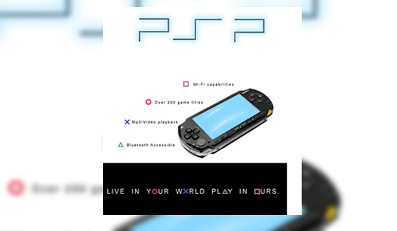 PSP Ad - PSP fully illustrated
