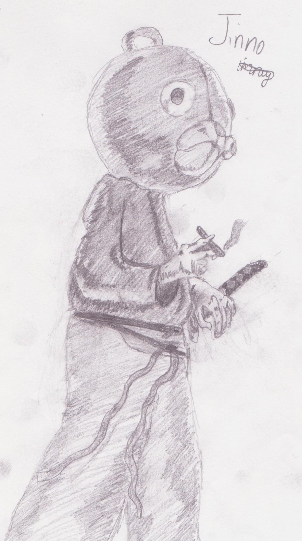 Jinno, My first art