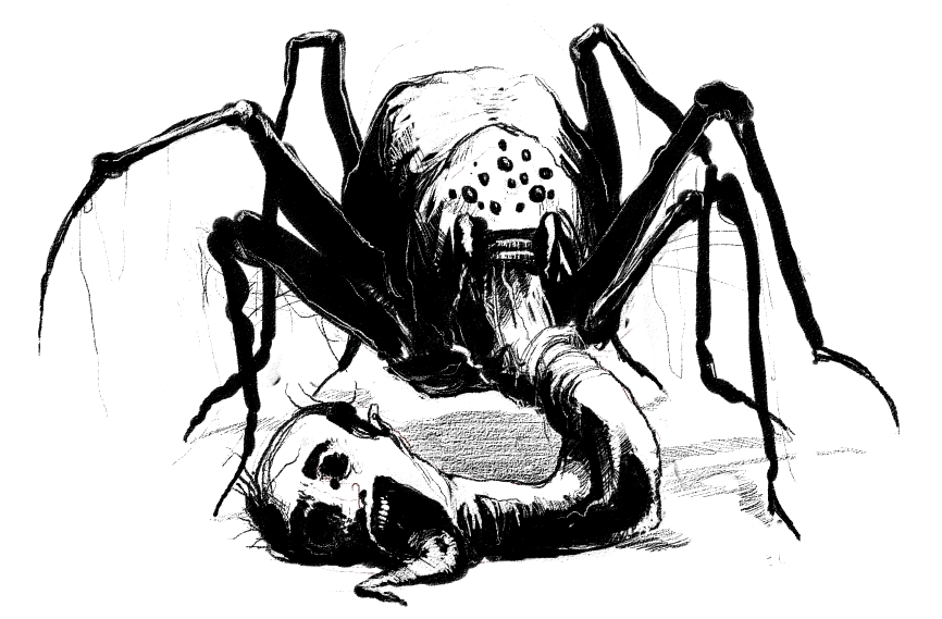 Its a spider