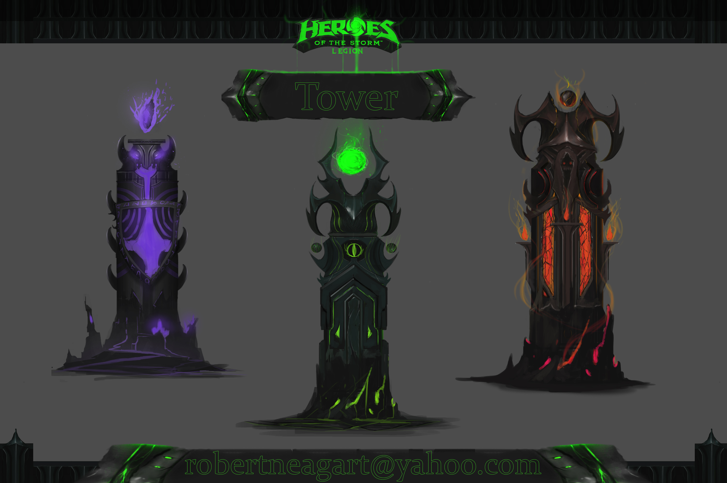 Heores of the storm tower [concept art]