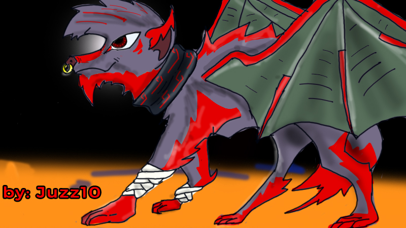 Red Dragon Wolf