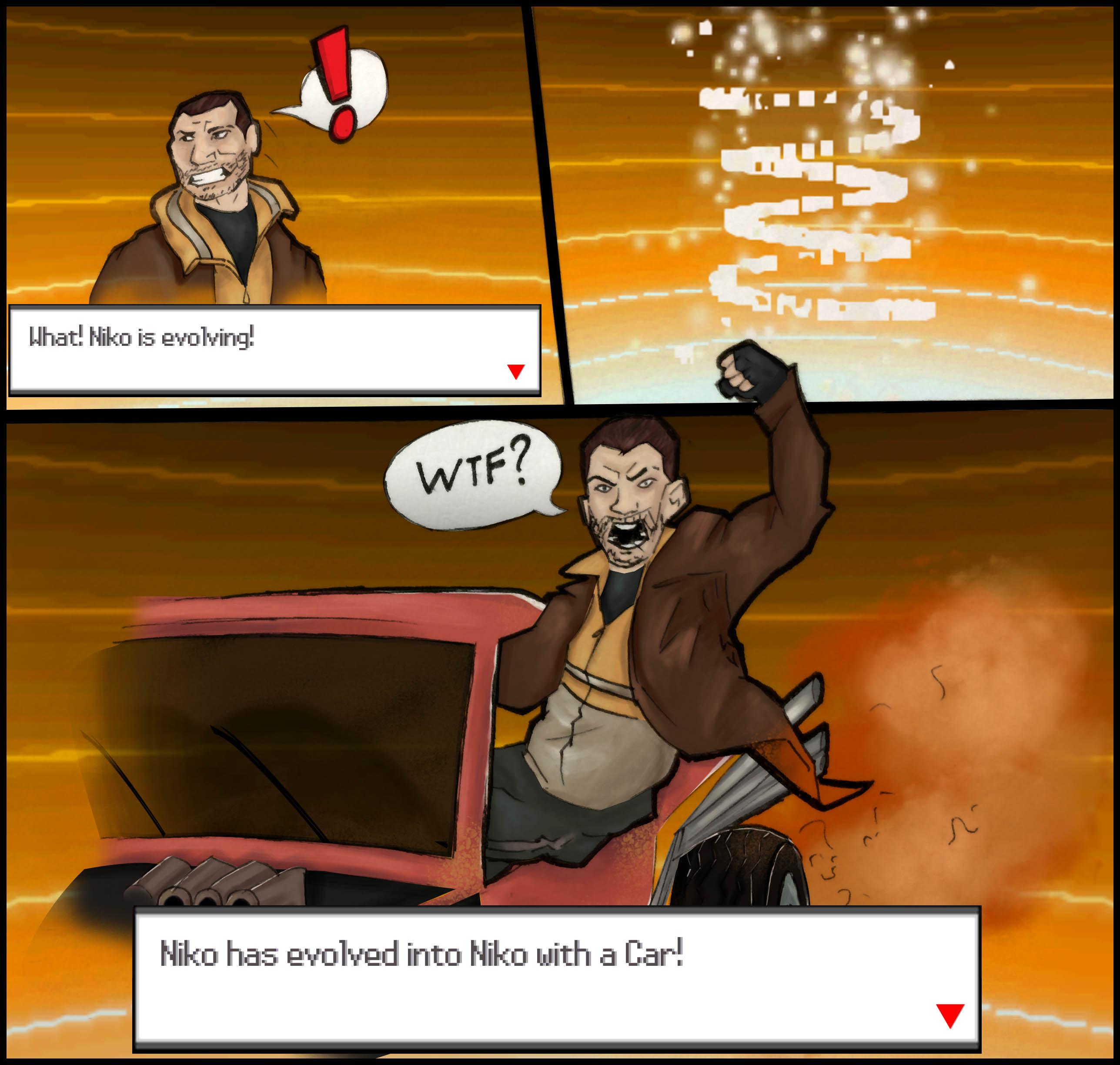 If Niko Bellic Were In Pokemon