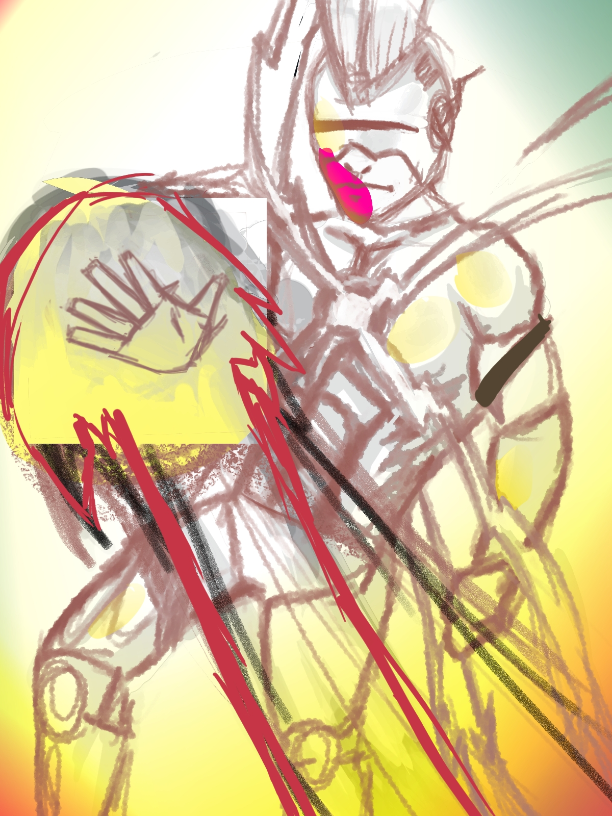 undone thingy wally west