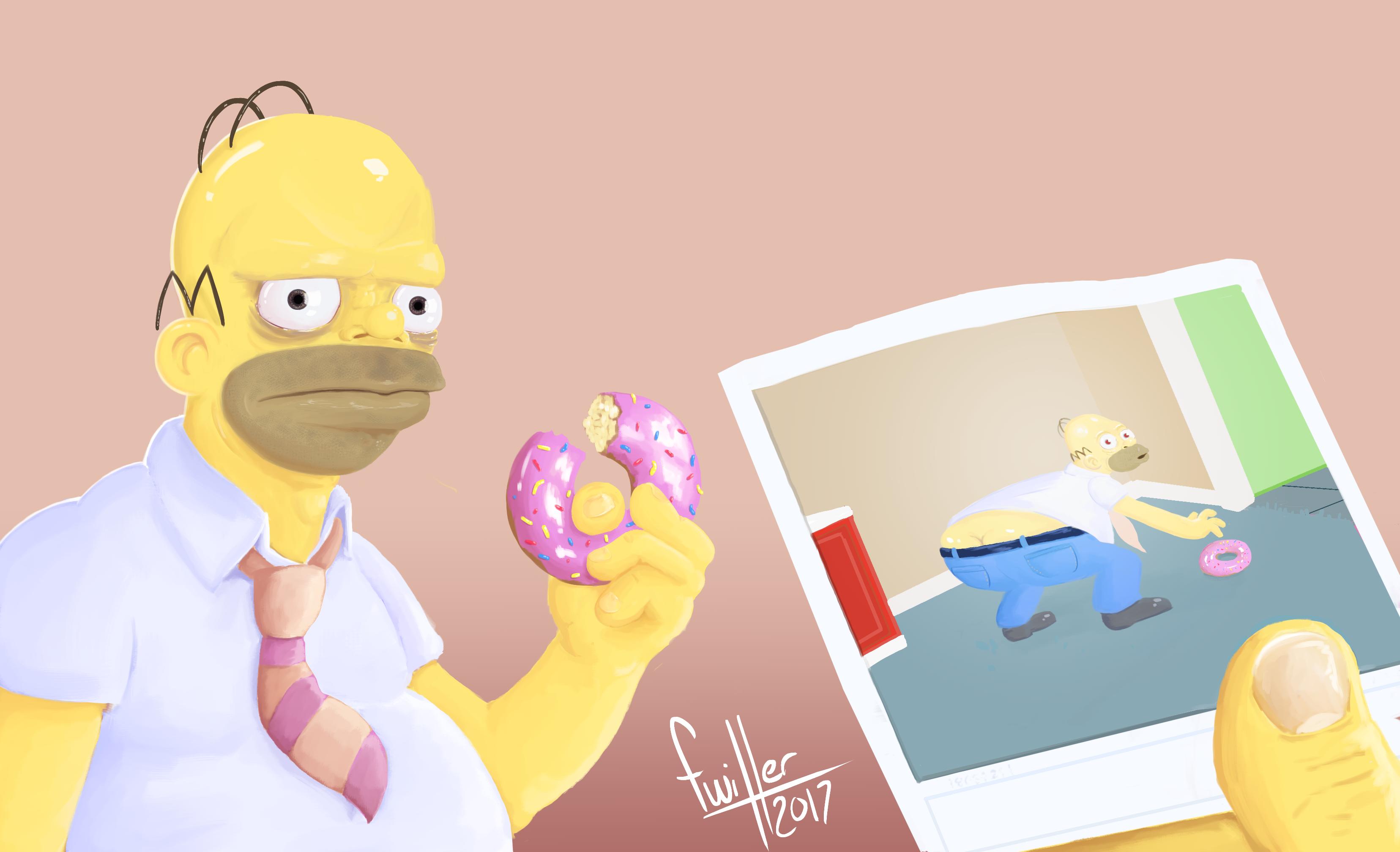 Grumpy Homer