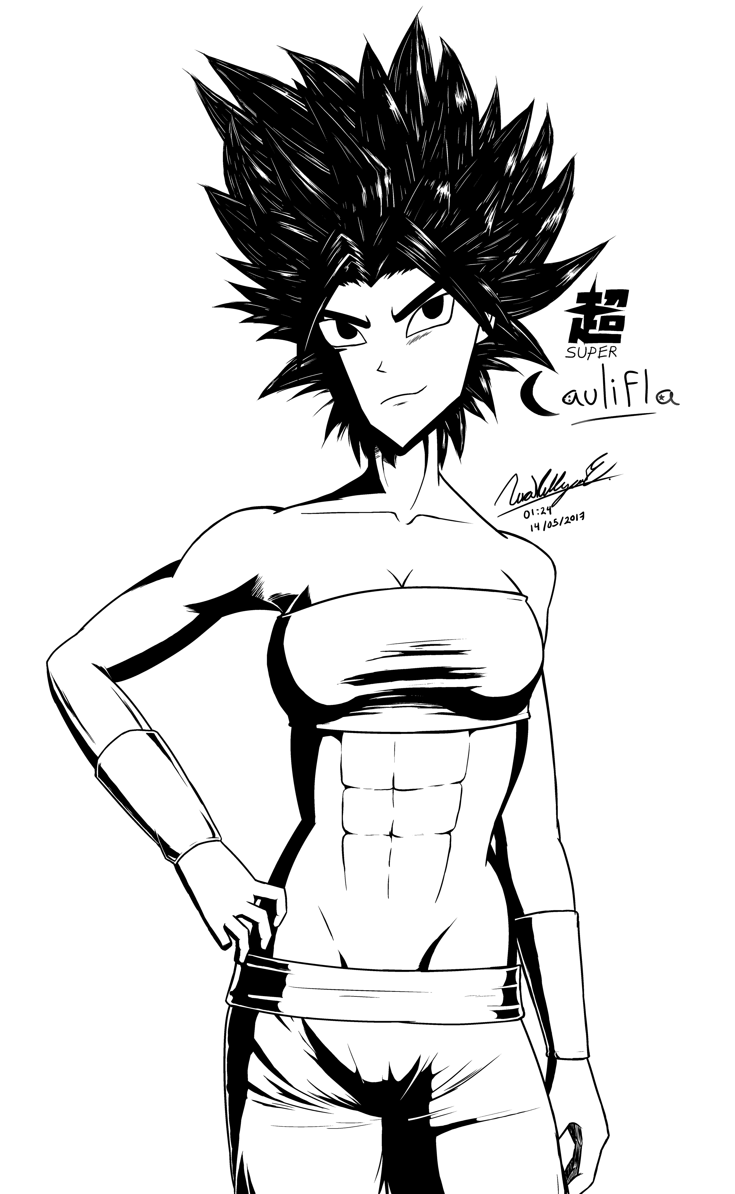 Caulifla ~ Dragon Ball Super