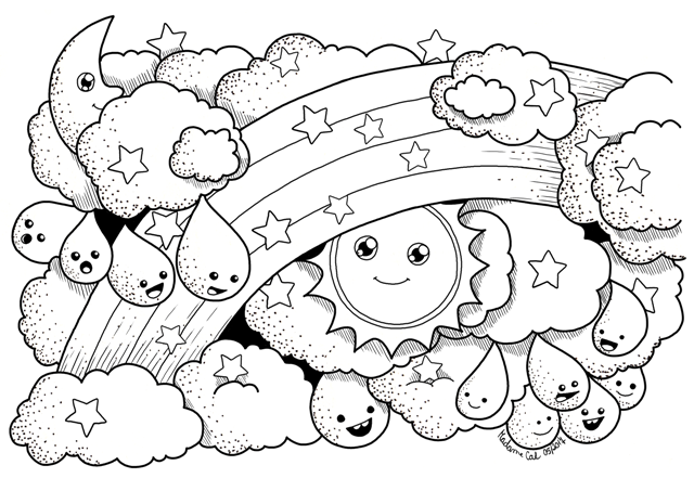 Mobile/severe Weather Coloring Pages Coloring Pages