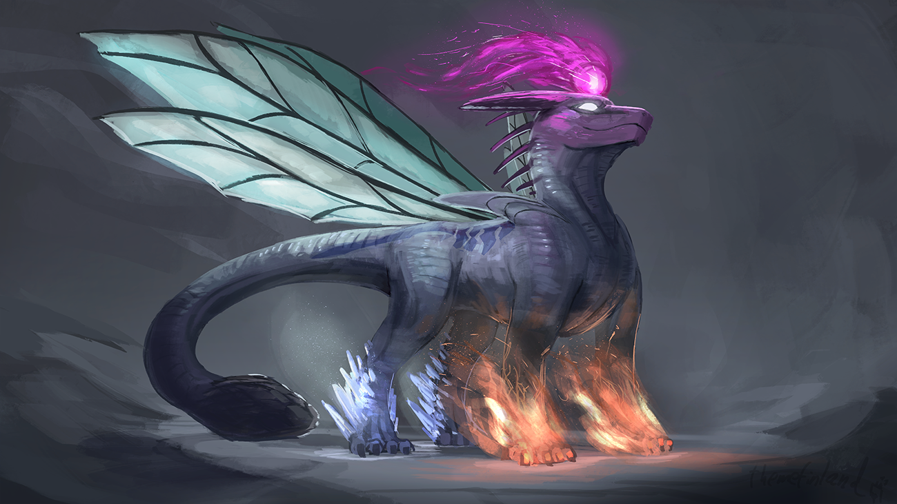 Dragon of elements