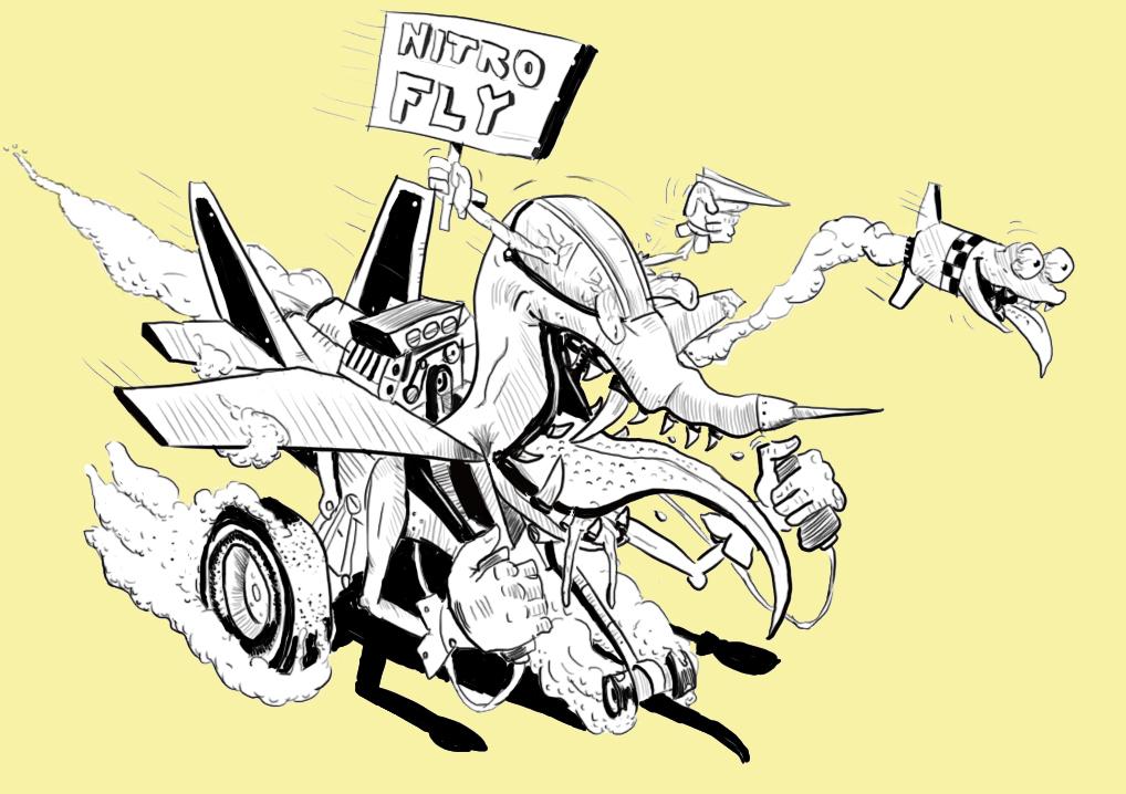 Fly nitro
