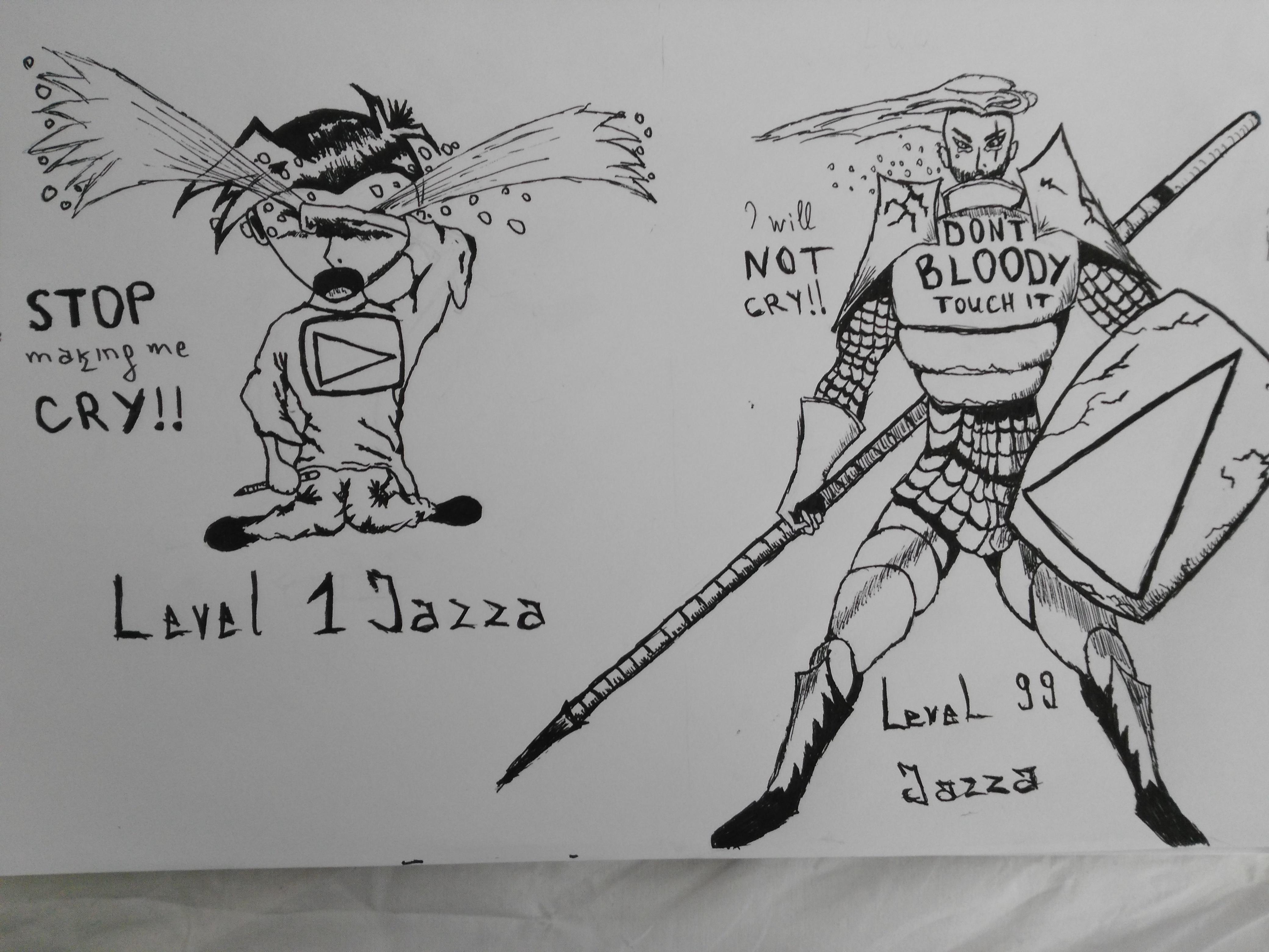 LVL99 Jazza