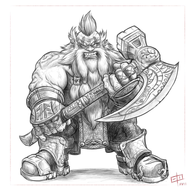 Battle Dwarf