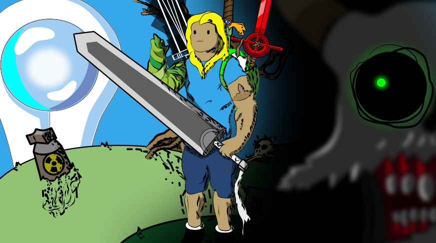 Finn the swordsman