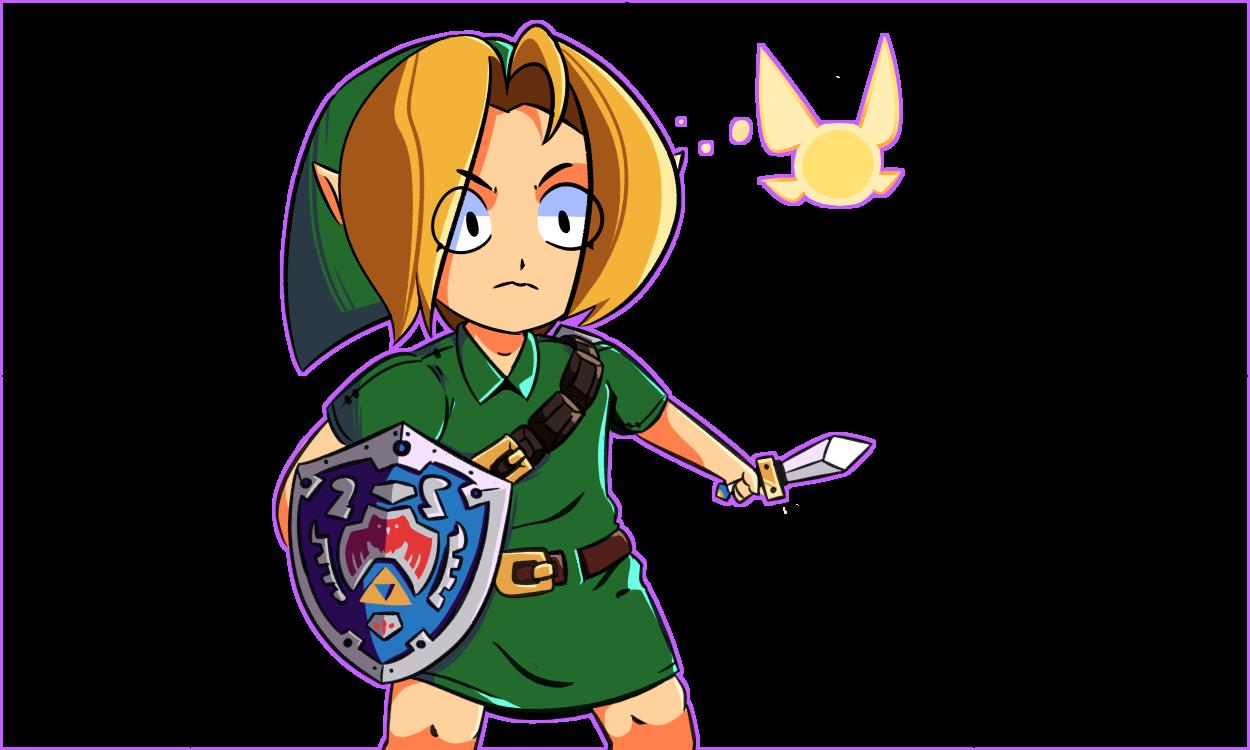 Majora's Mask Link