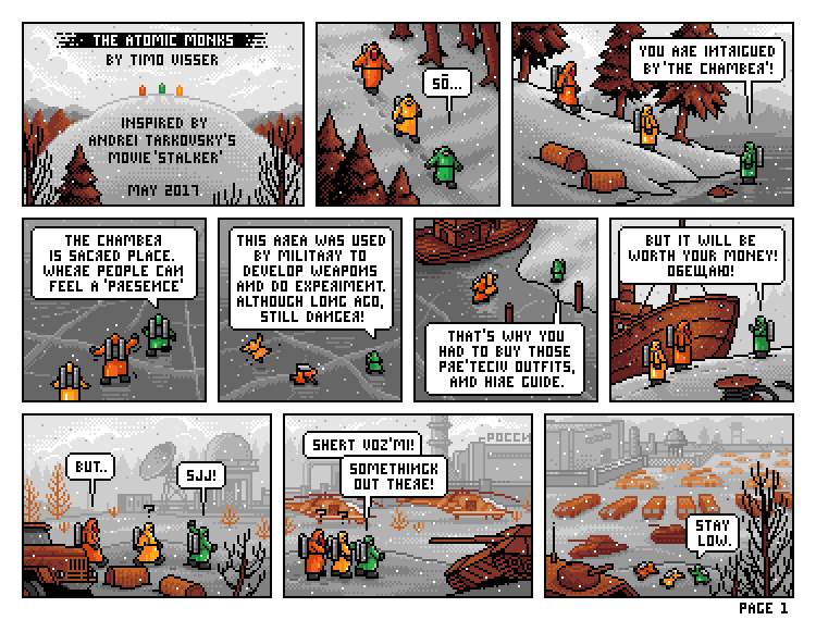 The Atomic Monks Page1