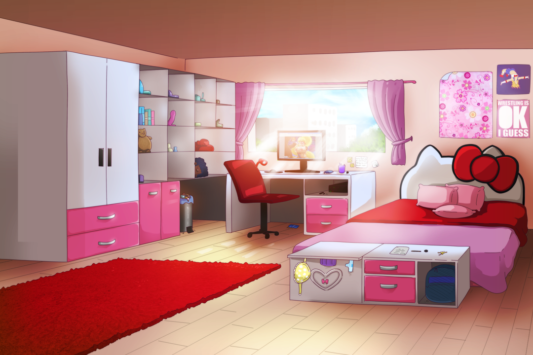 Hayley's room GWL game background