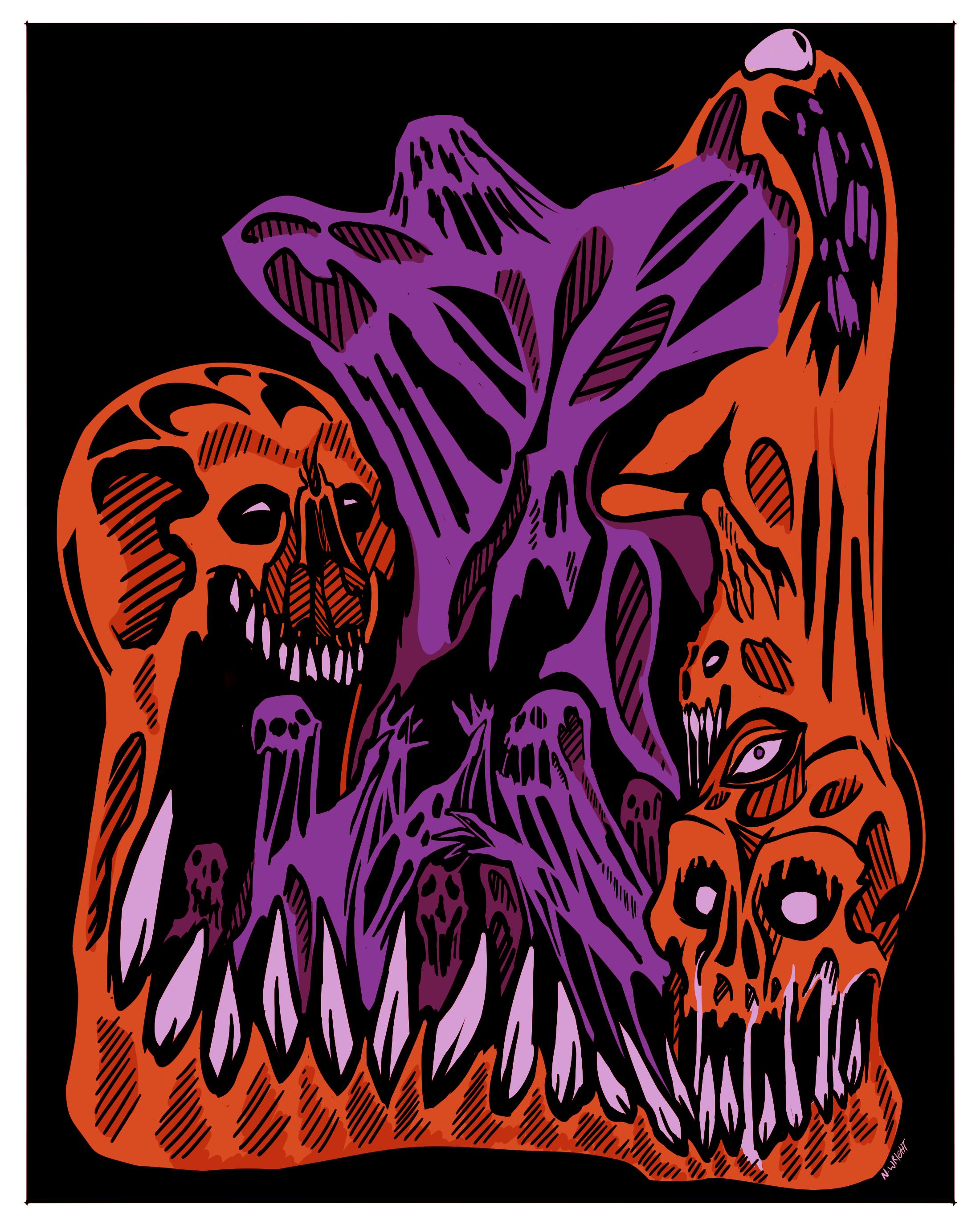 ghastly pile