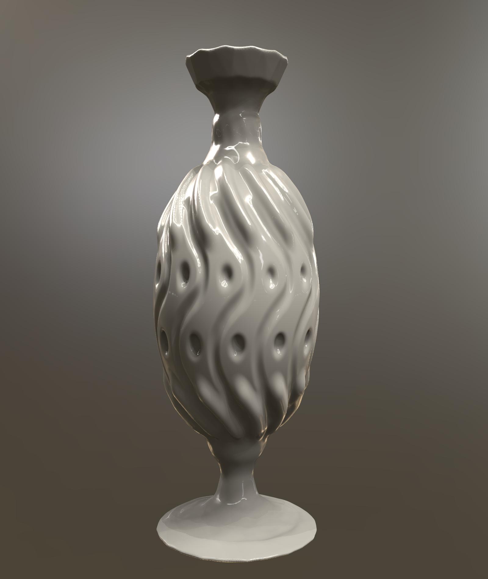 Classical Vase 3D