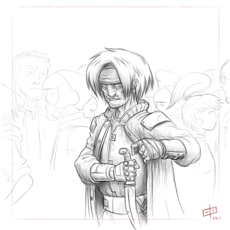 Warm-up Sketch - Rogue
