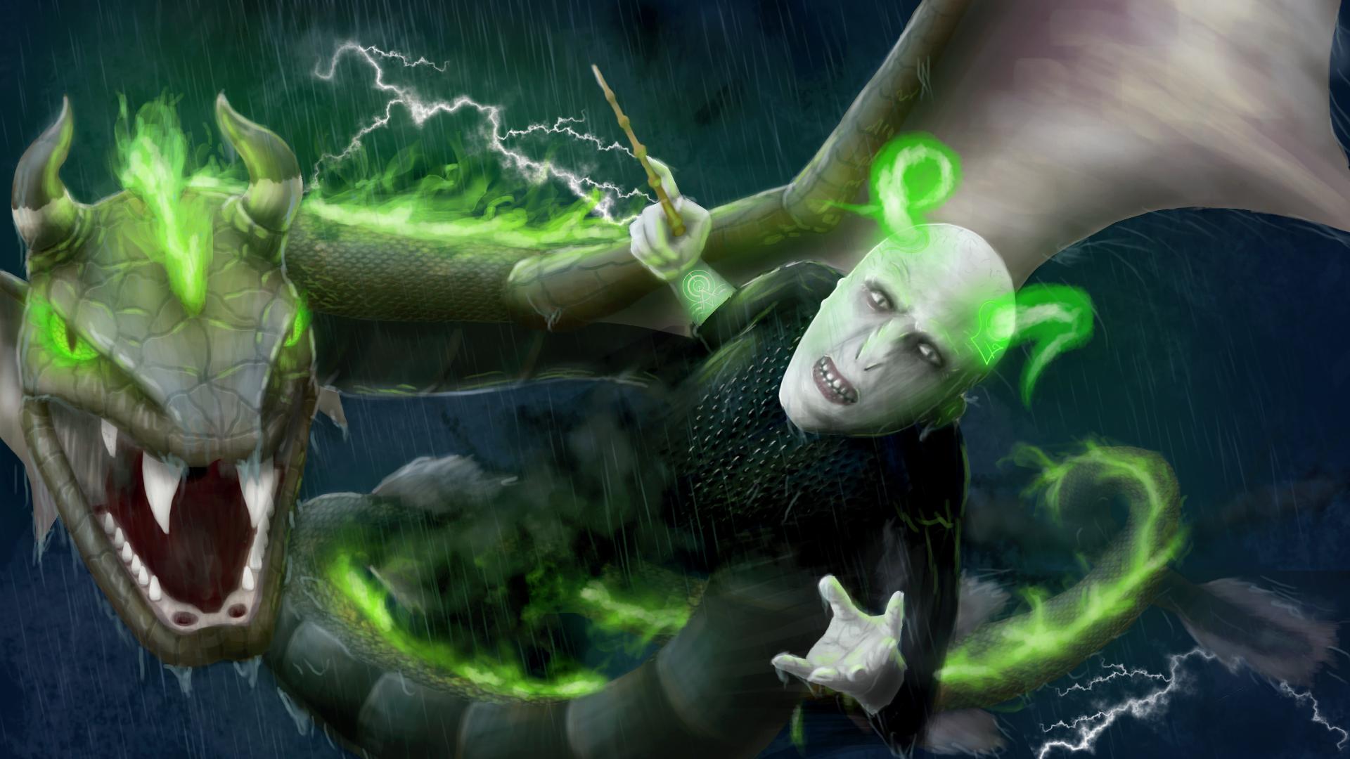 Voldemort and Nagini back at it again!