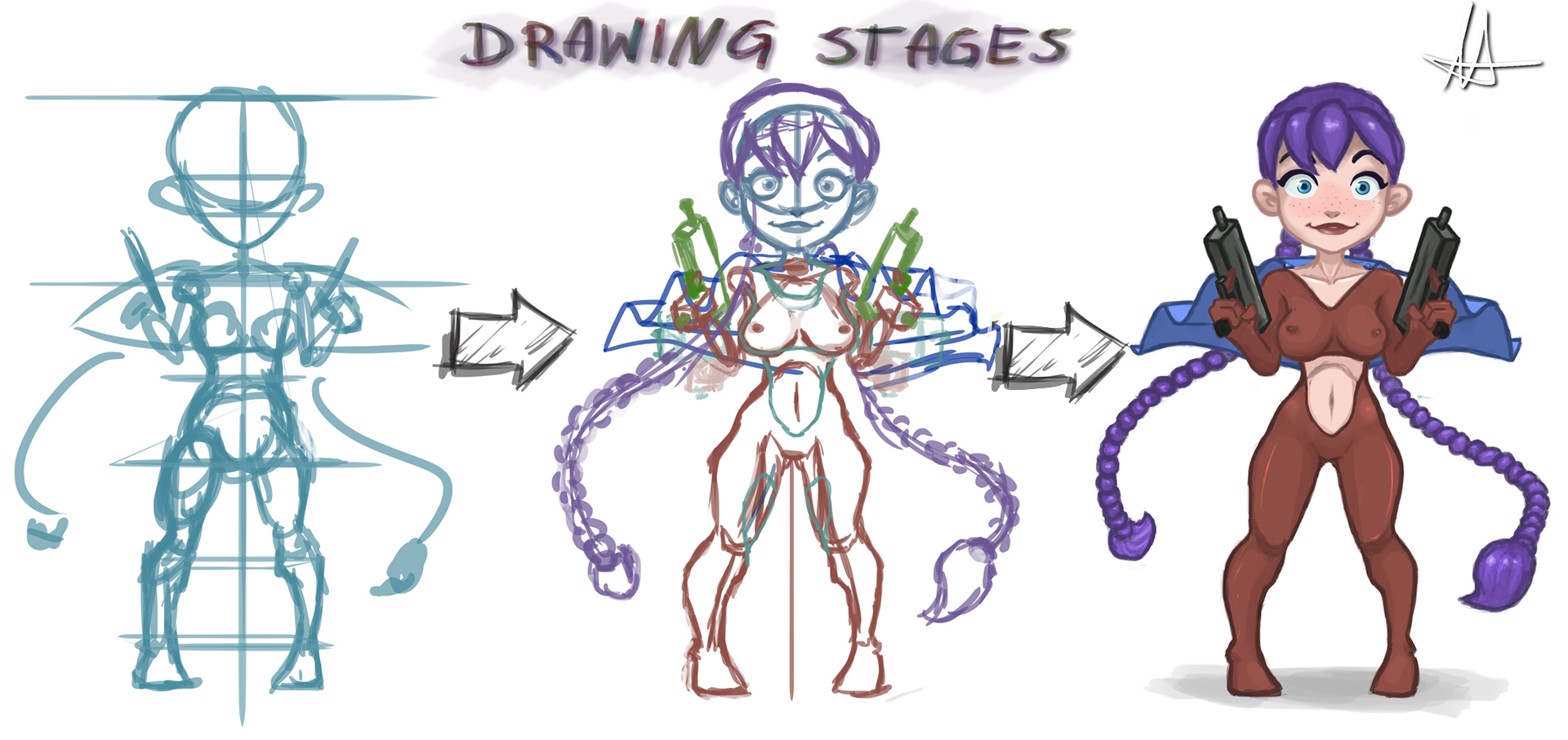 My Drawing Stages