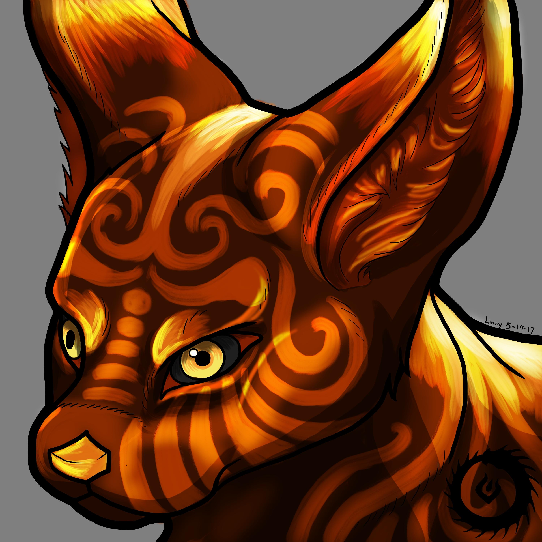 Fire Fennec Fox