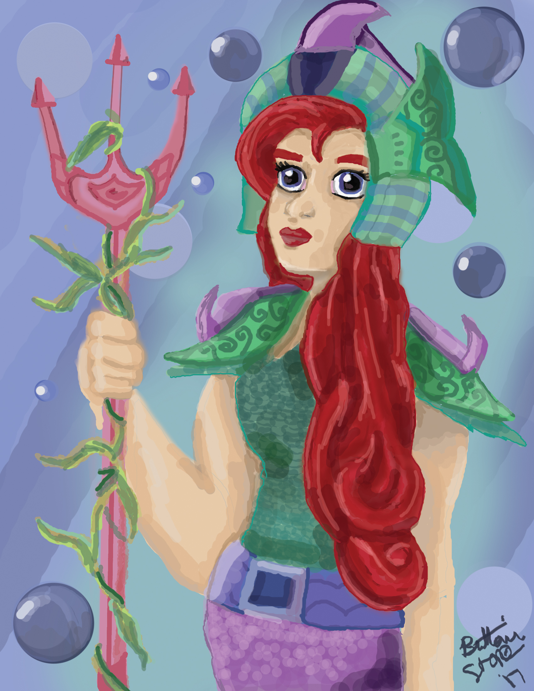 Ariel, Queen of Land and Sea