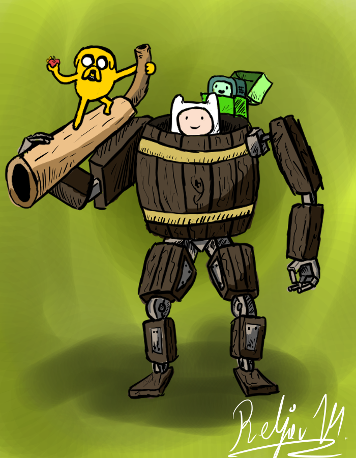 Finn And Jake -DWJ May challange