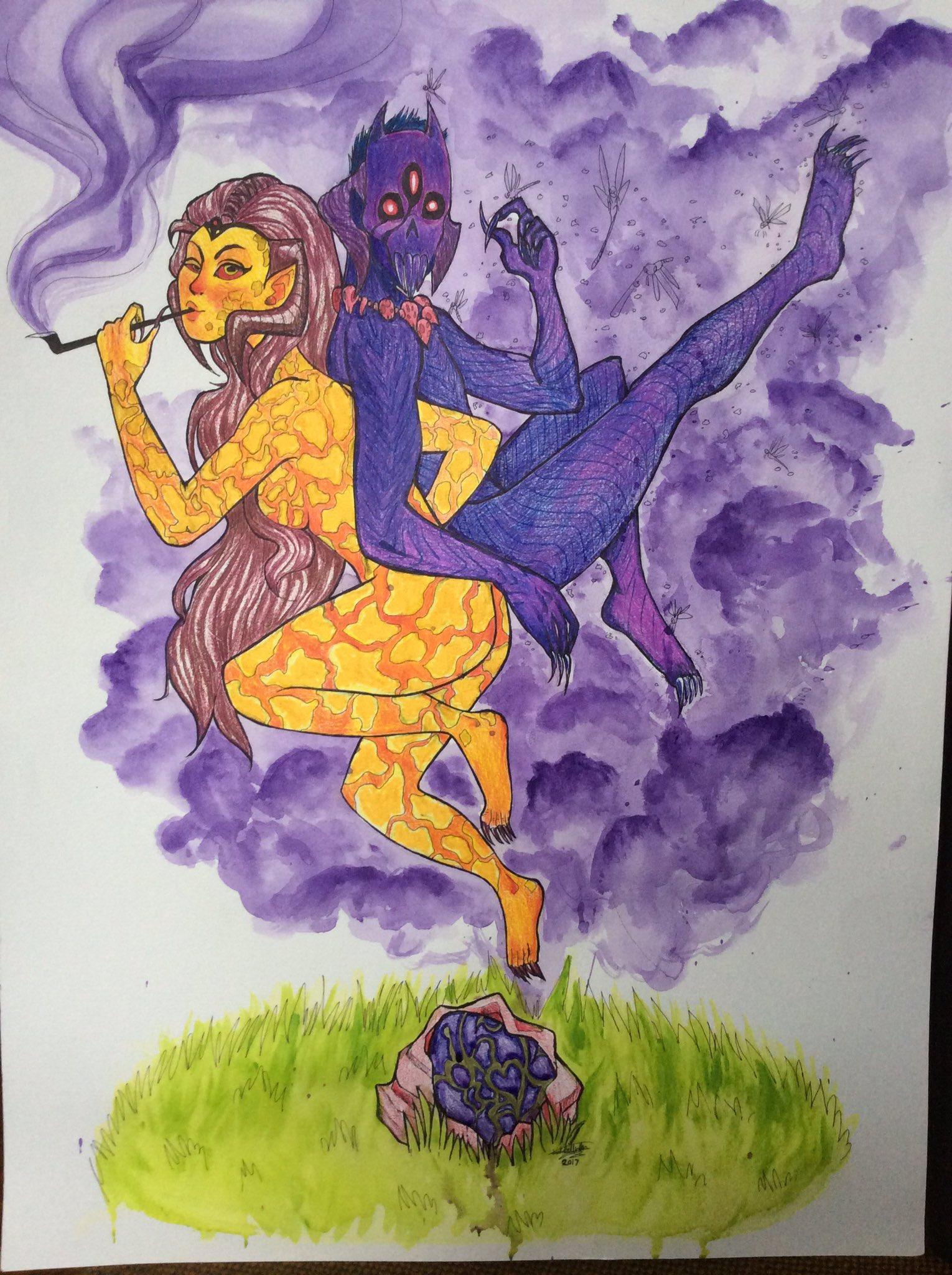 Wrathia and Pedri (+1)