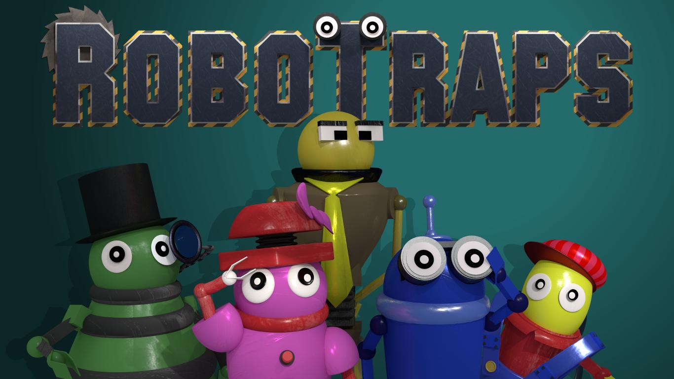 RoboTraps Title