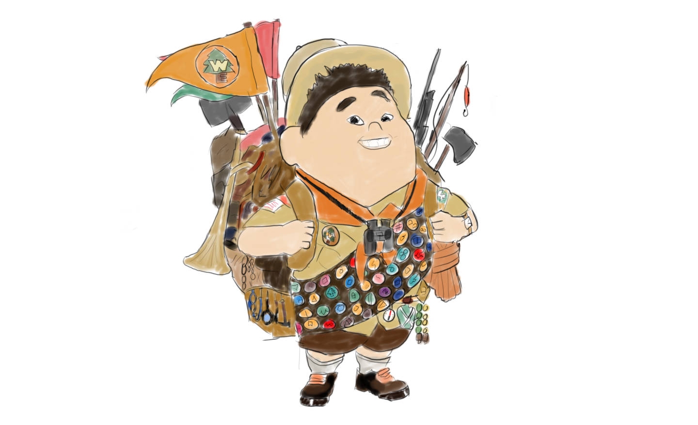 lvl99 RUSSEL FROM UP
