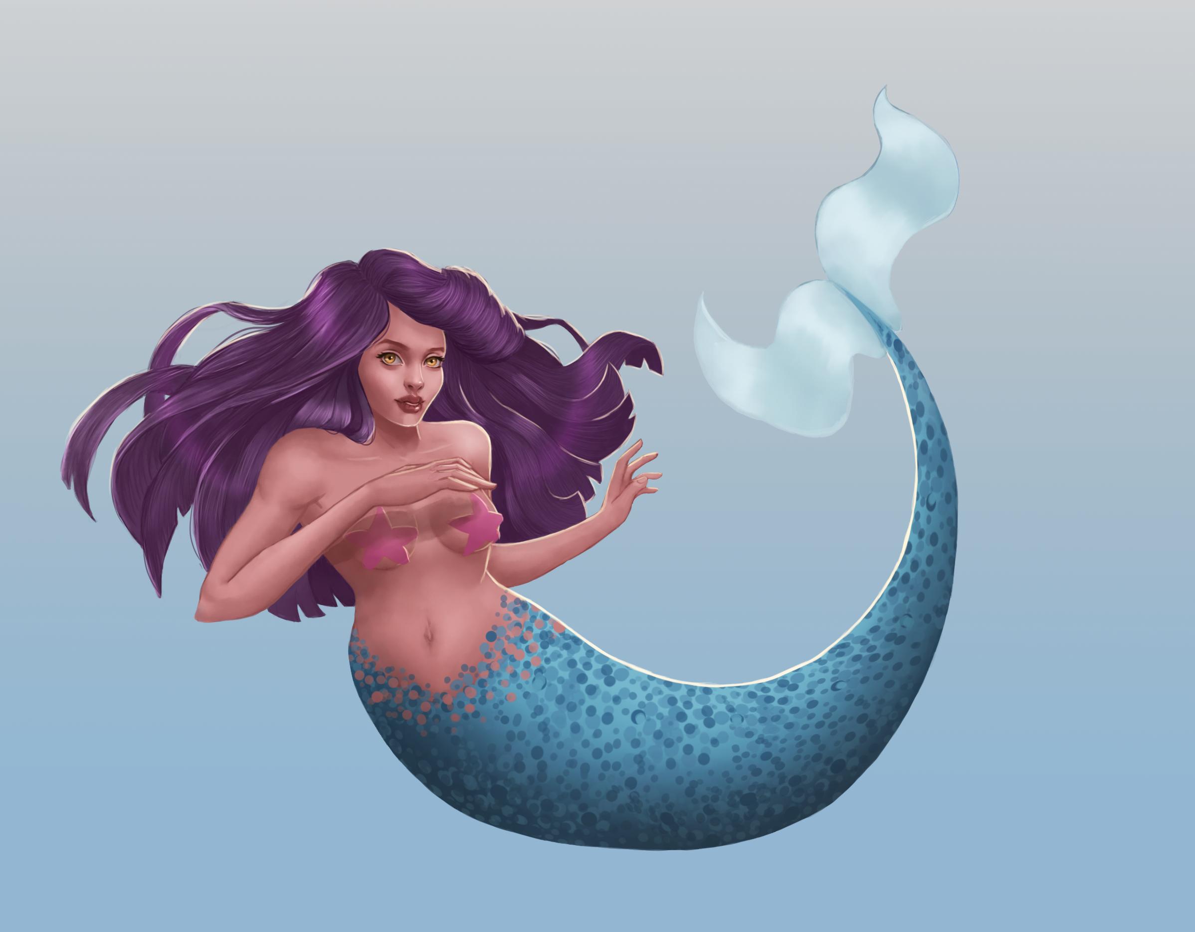 Mermaid for mermay!