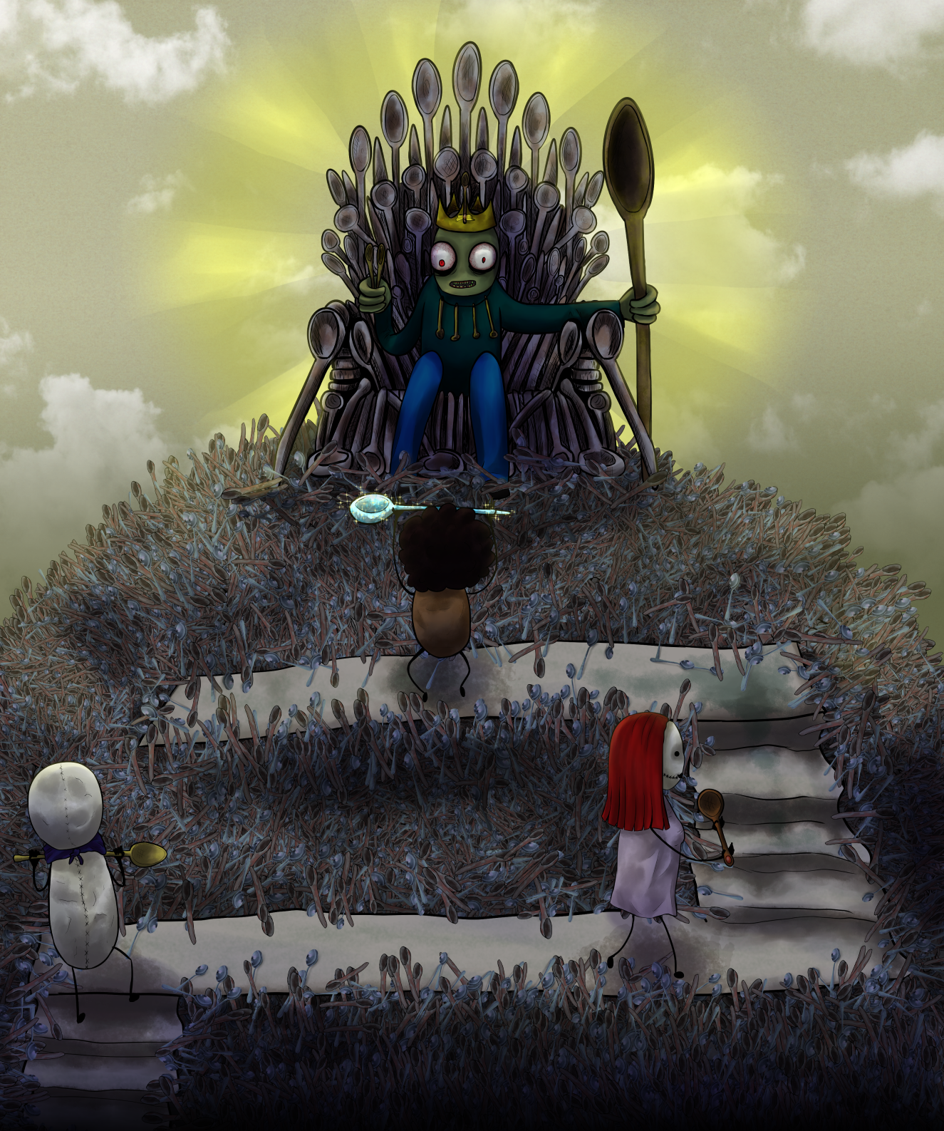 Throne of (rusty) Stainless Steel (LVL99)