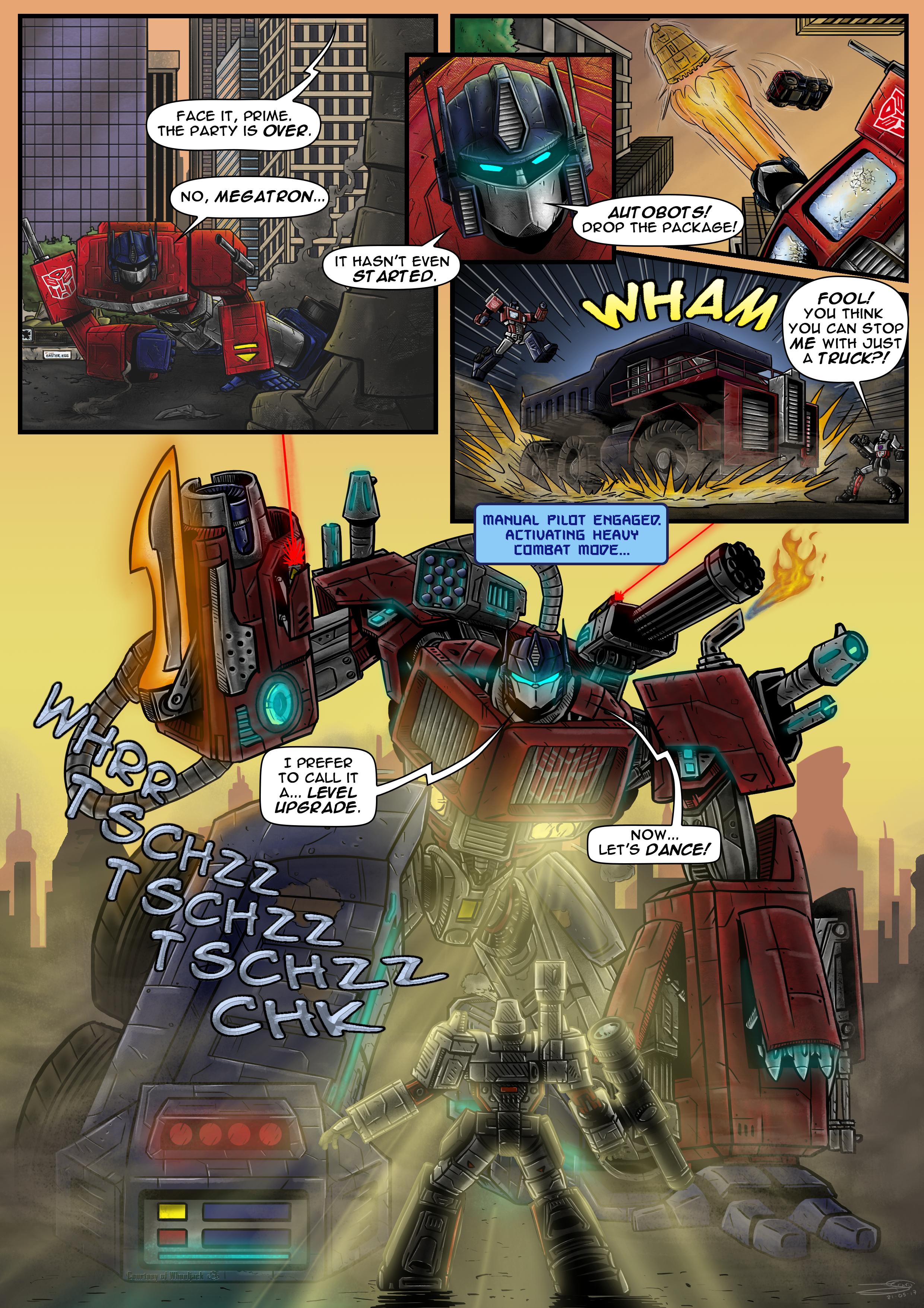 Optimus Prime LVL 99