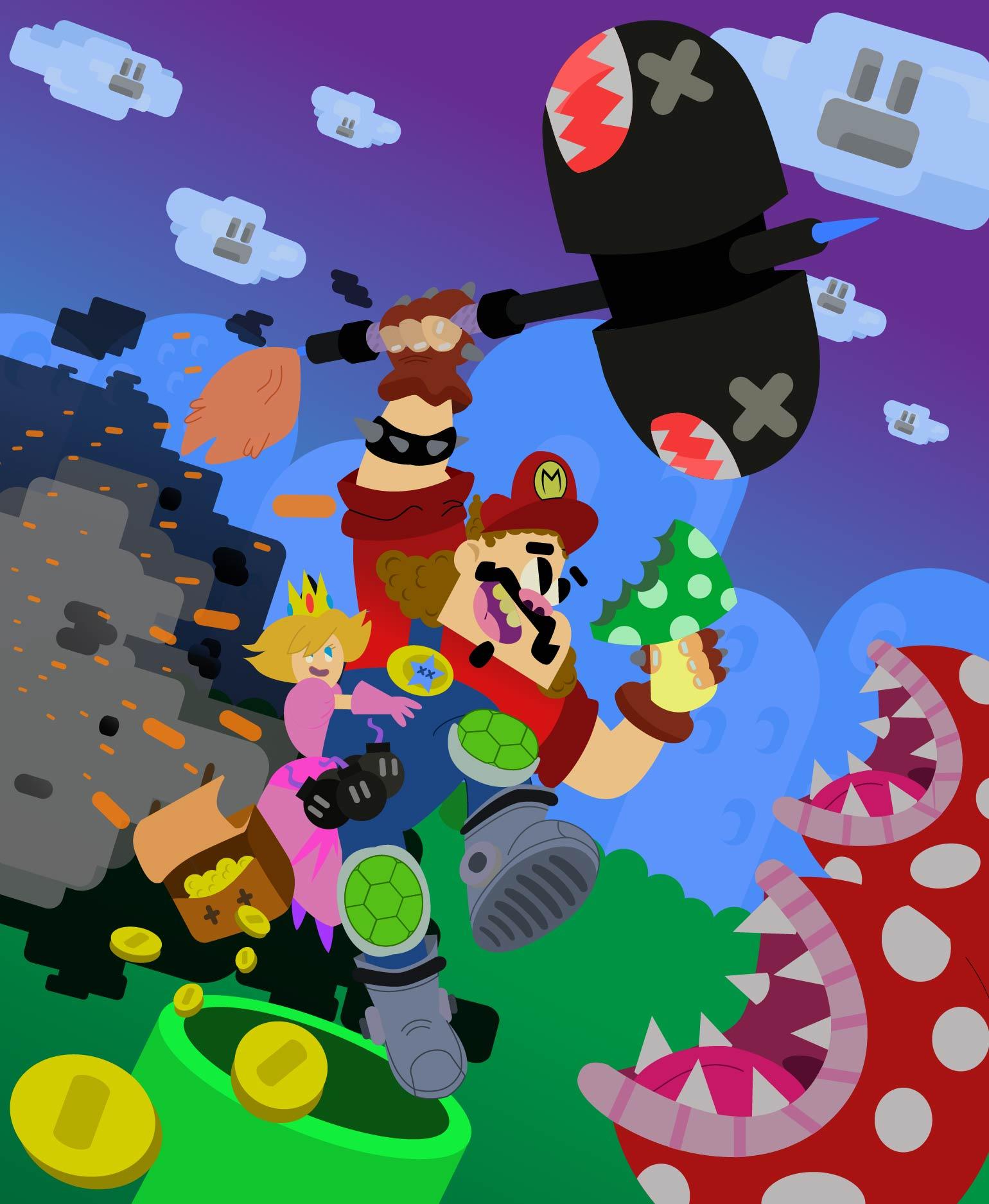 Mario the Turtle Slayer