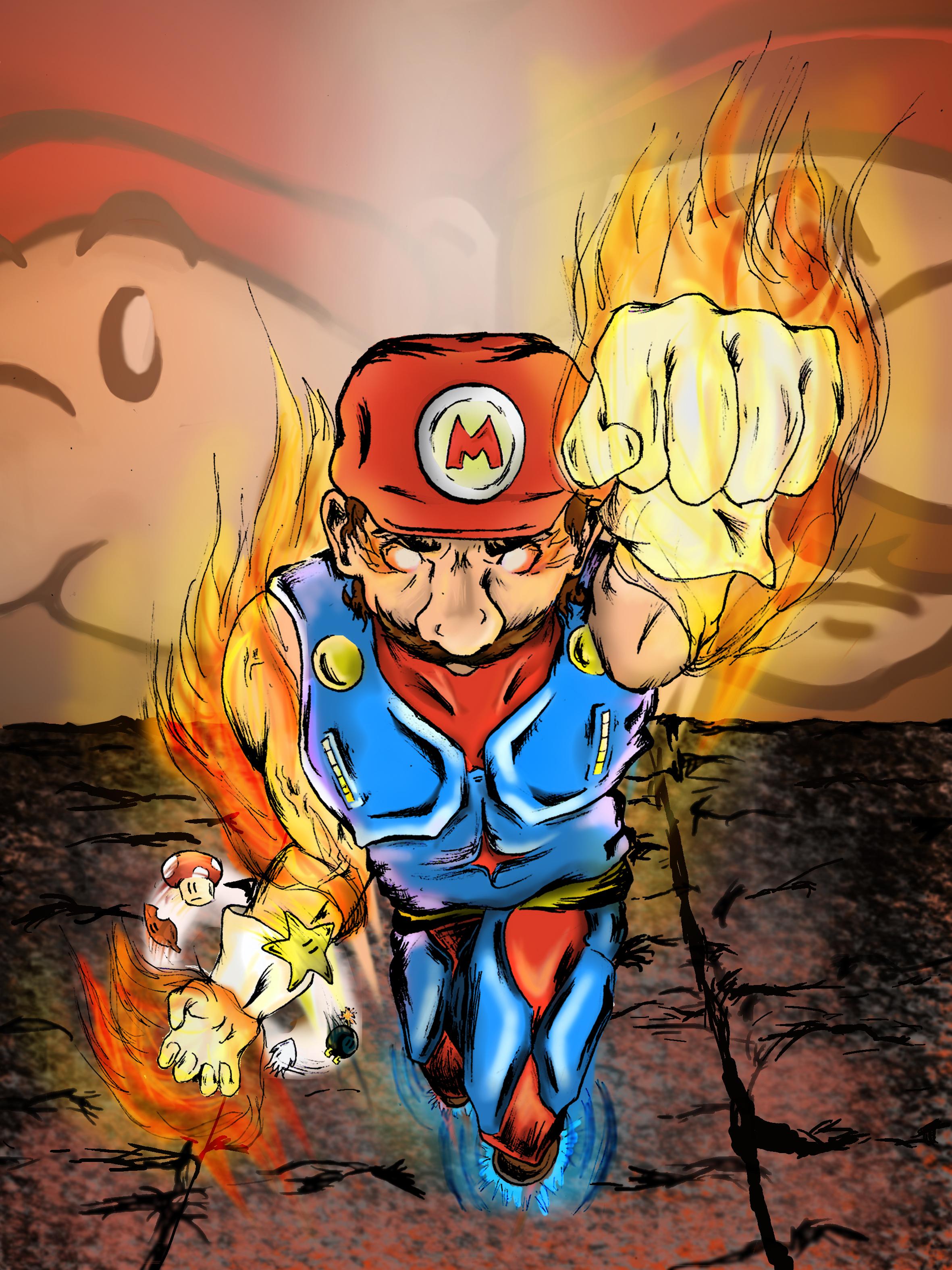 Super Mario Level Cap!
