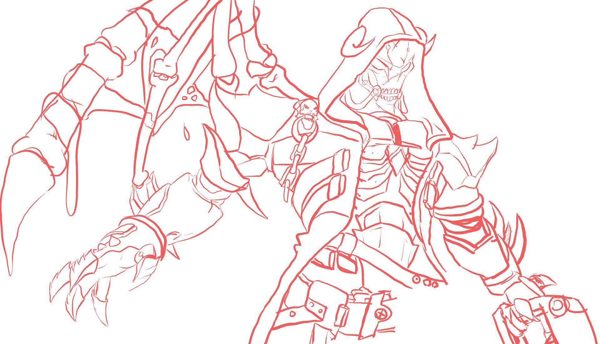 lvl 99 reaper in progress