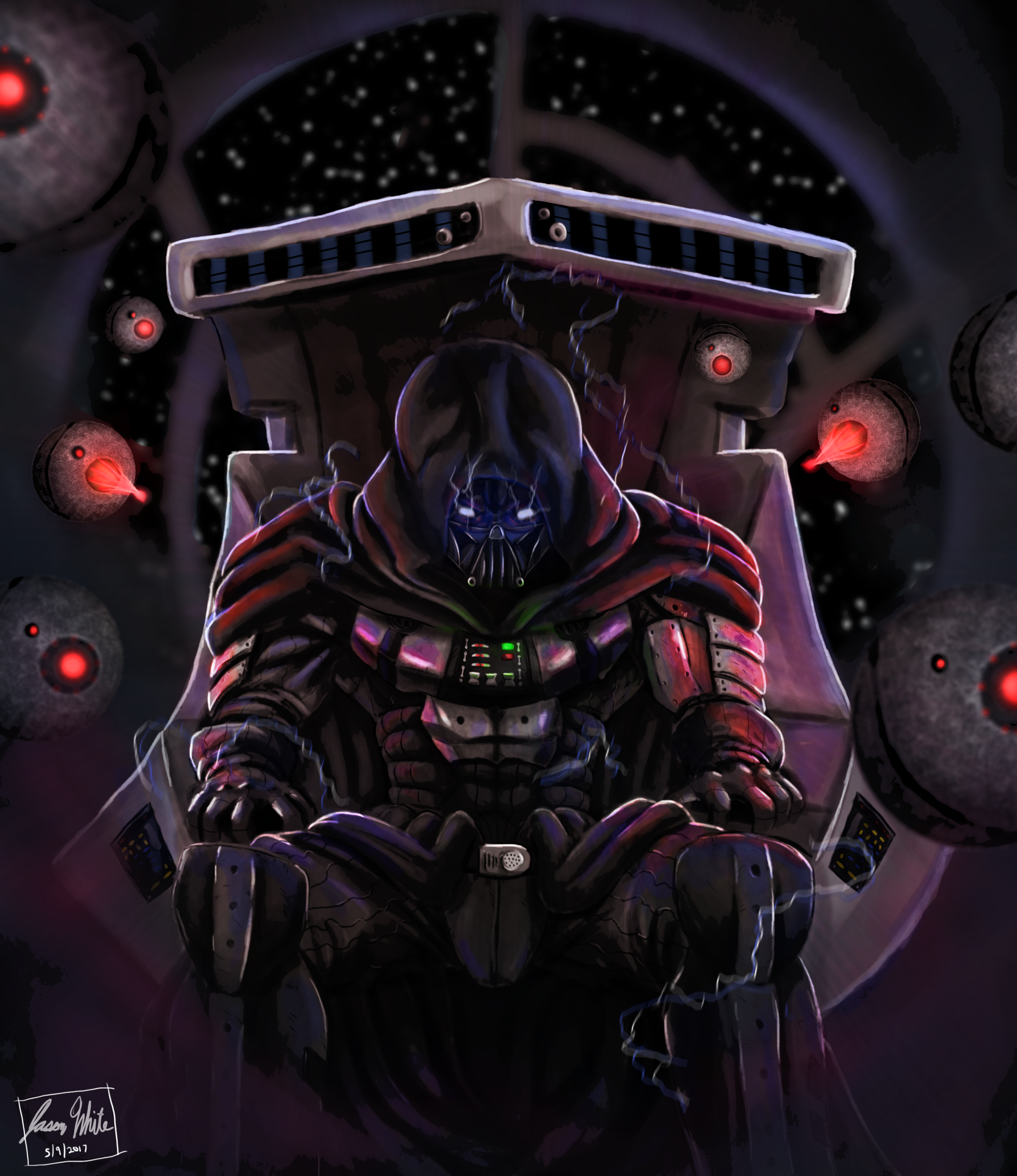 Emperor Vader By The Artist J On Newgrounds