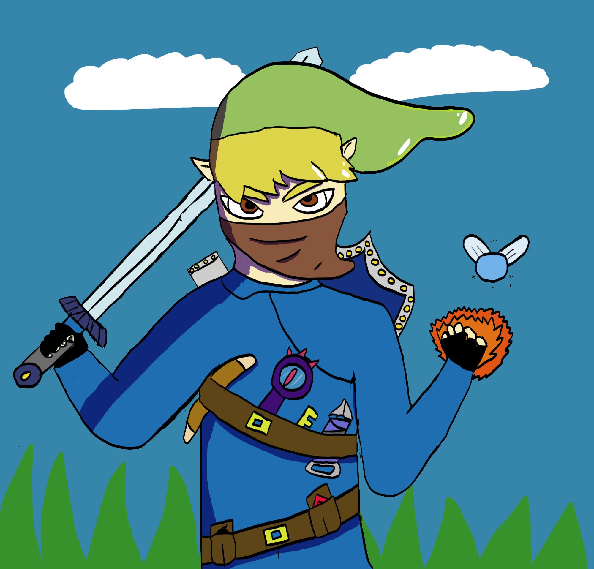 Level Cap Draw with jazza Link Legend of Zelda