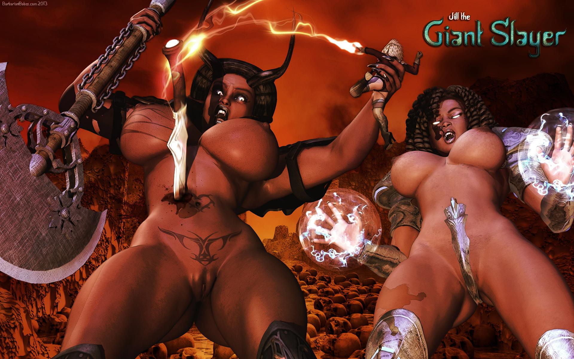 Jill the Giant Slayer