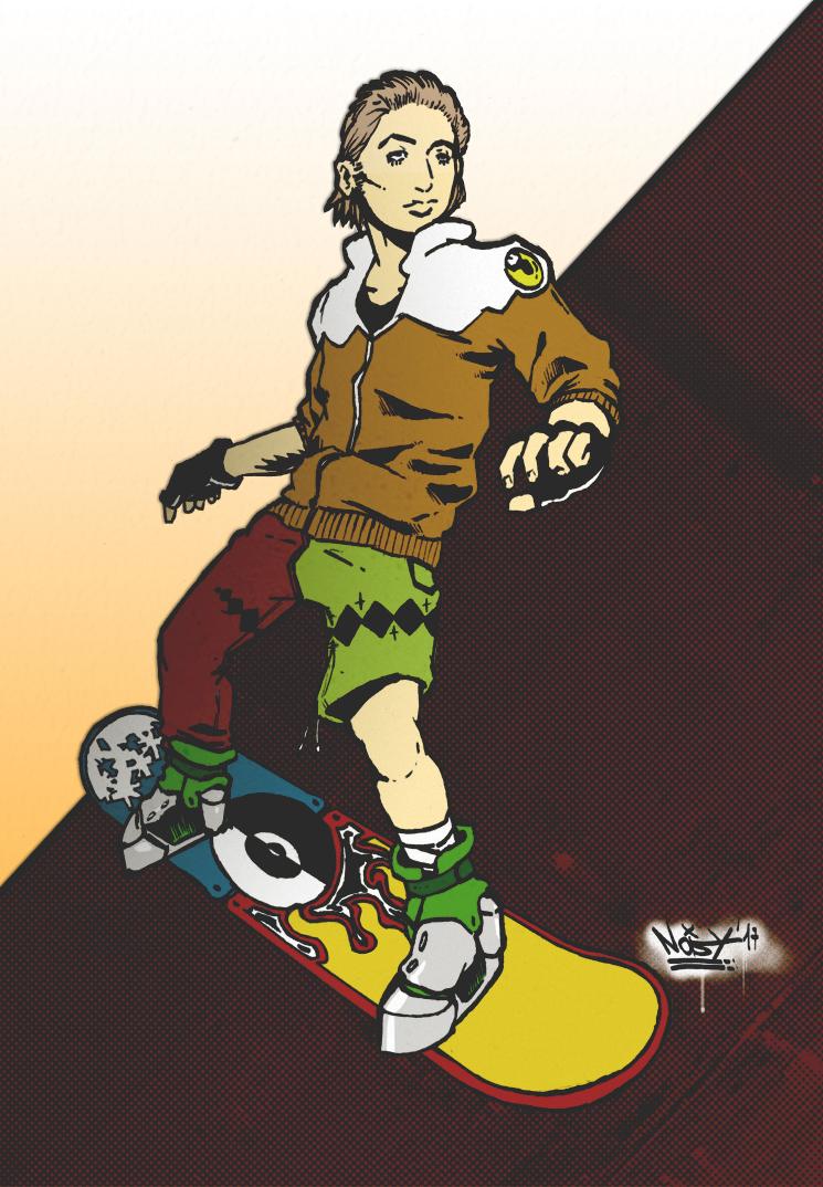 Snowboard dude